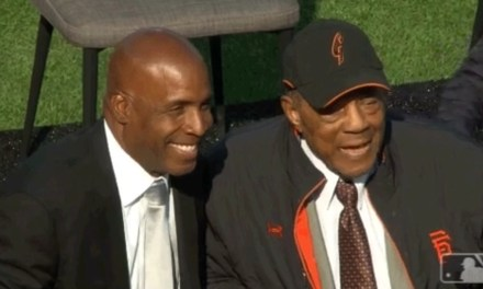 The San Francisco Giants Celebrated PEDs and Retired Barry Bonds' Number