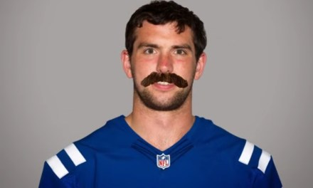 Big News Out of Colts Camp, Andrew Luck Shaved His Beard