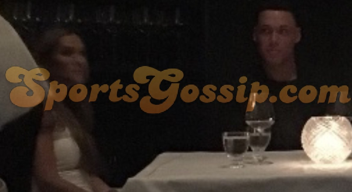 Aaron Judge Spotted on a Dinner Date with His Ex-Girlfriend Jen Flaum