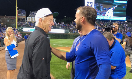 Cubs Rookie David Bote Hits Walk off Grand Slam Then Meets Bill Murray