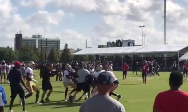 DeAndre Hopkins Got into a Fight with the 49ers Secondary on First Play in Joint Practice