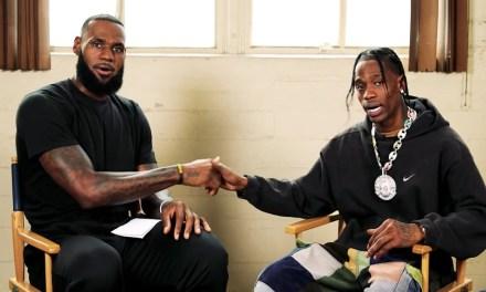 LeBron James Interviews Travis Scott About Executive Producing NBA 2K19