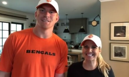 Andy Dalton and Wife Thank Bills Fans with Big Hospital Gift