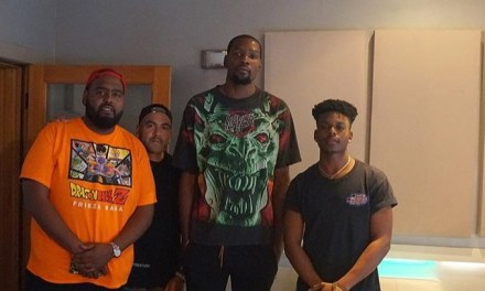 Kevin Durant Back in the Studio Working on an Album?
