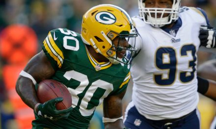 Packers Running Back Plans to Retaliate for Dirty Plays