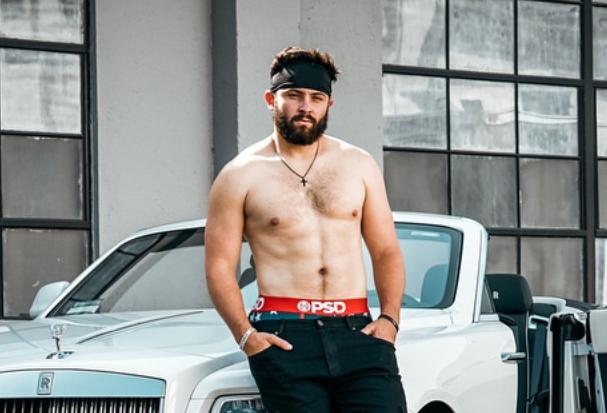 c2157262 Baker Mayfield's an Underwear Model Now - Sports Gossip