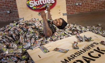 Marshawn Lynch Launches His Own Pack of Skittles