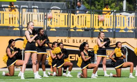 KSU Cheerleaders who Kneeled during national Anthem Get Cut from Squad