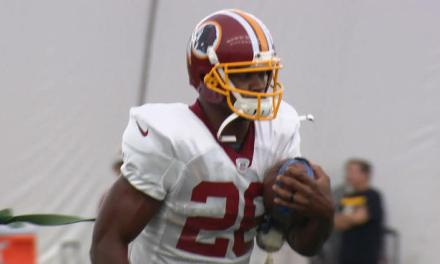Adrian Peterson is Excited About Making His Redskins Debut