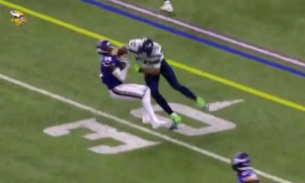K.J. Wright Lowered the Boom on Stefon Diggs