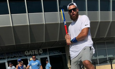 Travis Kelce Went to the Indians and Royals Game and Cheered on the Away Team