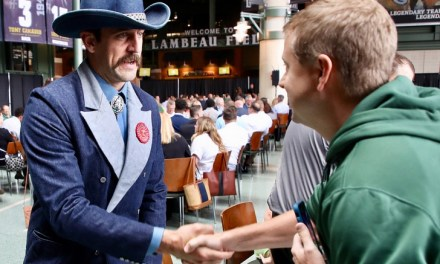 Aaron Rodgers Goes Full Cowboy after Signing Extension