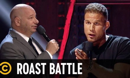 Blake Griffin Roasted the Clippers in his Comedy Central 'Roast Battle'