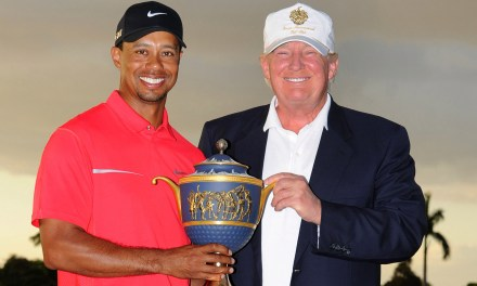 Trump Says the Left is Angry at Tiger Woods in Latest Tweet Storm
