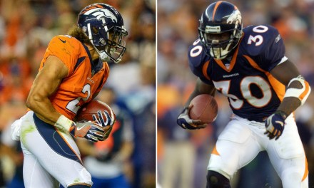 Broncos Rookie Phillip Lindsay Asks Terrell Davis if He Can 'Rock' The # 30