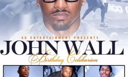 John Wall Throws Himself a Birthday Bash in Atlanta