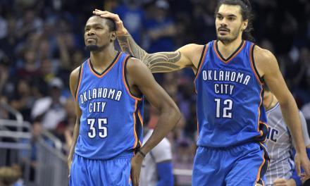 Steven Adams Claims in His Book That Kevin Durant Wasn't Happy When OKC Drafted Him