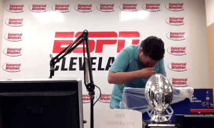 Cleveland Sports Radio Host Finally Eats Poop