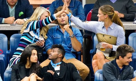 Christie Brinkley's Son Makes out with Nina Agdal at the US Open
