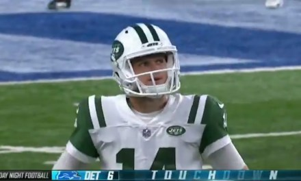 Sam Darnold Threw a Pick Six on His First Career Pass Attempt