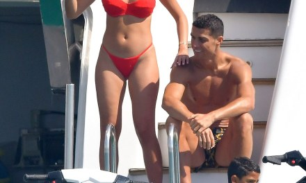 Cristiano Ronaldo is Enjoying life in Saint Tropez