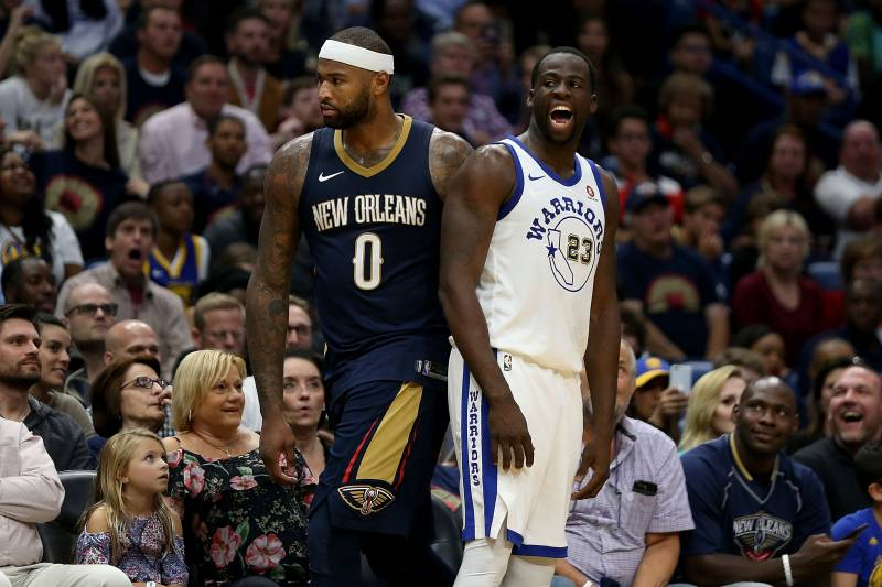 Draymond Green Cleaning DeMarcus Cousins Pool