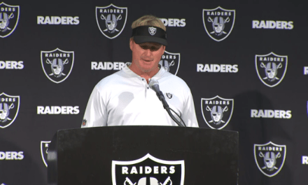 Jon Gruden Actually Said the Raiders Have to Figure Out Why They Weren't Able to Rush the Passer