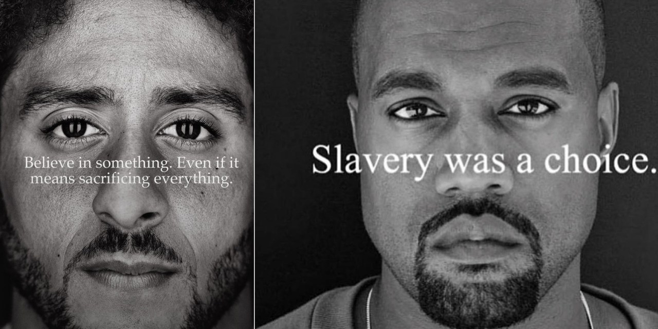 Kanye West Says He's to Adidas as Colin Kaepernick is to Nike
