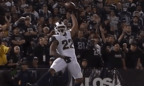 """Rams Marcus Peters Fined $13k for """"Hold My D*ck"""" Touchdown Celebration"""