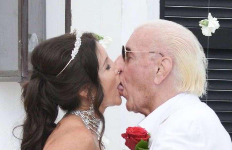 A Deep Look Inside Ric Flair's Wedding