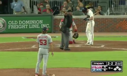 Umpire Laz Diaz Stopped the Game to Yell at the Dave Martinez about Bryce Harper