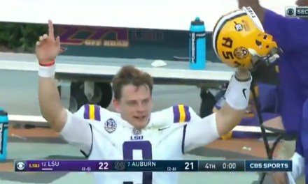 LSU Beat Auburn With a Last Second 42-Yard Field Goal
