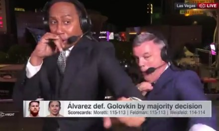 Stephen A. Smith and Teddy Atlas Put on an Electric Post-fight Show