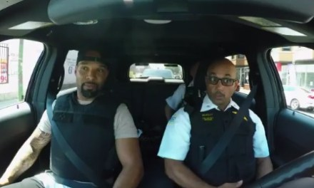 Matt Forte Goes on a Ride Along in Chicago