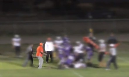 Texas High School Football Coach Arrested For Tossing Opposing Player Off Fight Pile