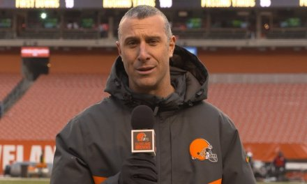 Browns Sideline Radio Reporter Nathan Zegura Banned 8 games for Yelling at Official