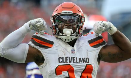 Carlos Hyde Leaves Child's Birth Early to Play on Thursday Night