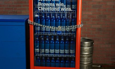 Watch the Moment the Bud Light Fridges Opened After Browns First Win