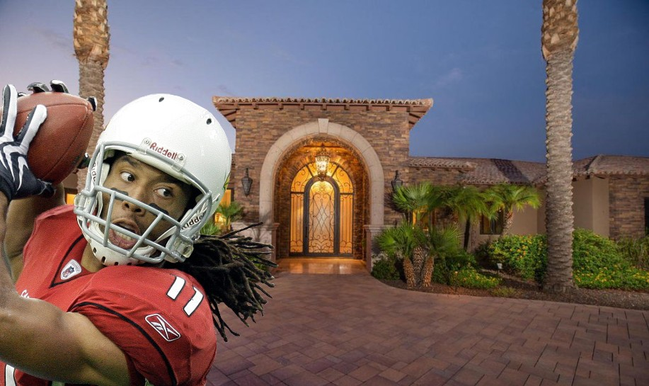 Check Out Larry Fitzgerald's $5M Home for Sale in Paradise Valley, AZ