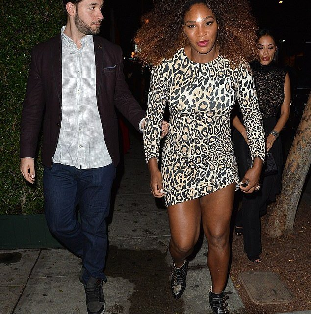 Serena Williams Brings out the Leopard Print at the 5th Annual Imagine Ball