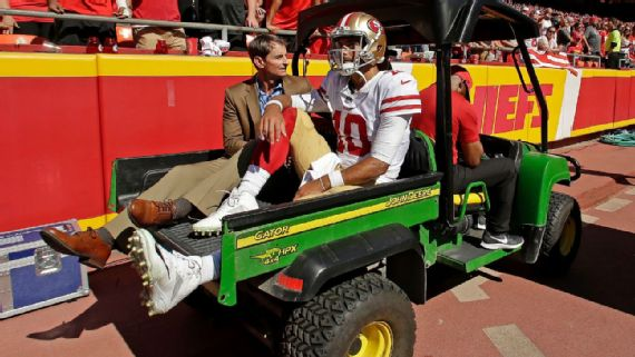 MRI Confirms Torn ACL for Jimmy Garoppolo, Will Miss Season