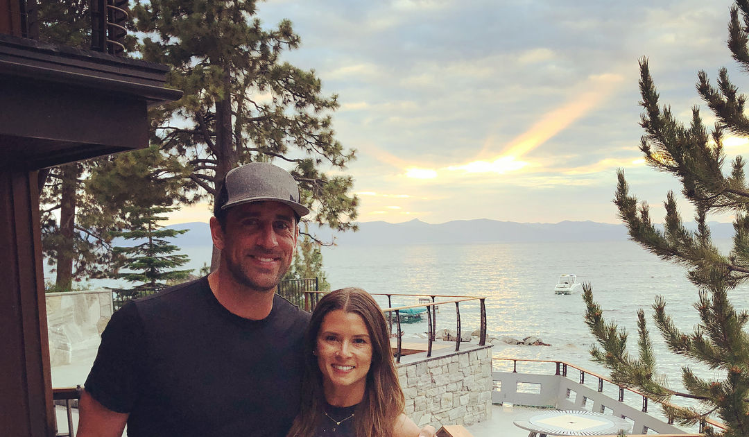 Danica Patrick Says She and Boyfriend Aaron Rodgers 'Watch a Lot of Sports'