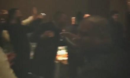 Kate Upton and Justin Verlander Celebrating