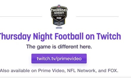 Thursday Night NFL games to be Streamed on Twitch