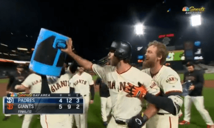 Madison Bumgarner Will Not Be Given a Gatorade Shower