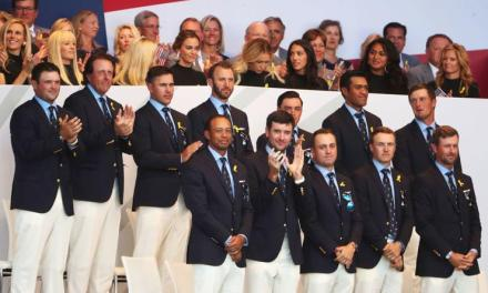 Tiger Woods Announcement at the Ryder Cup Was Legendary