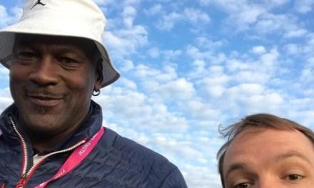 Michael Jordan Back at Ryder Cup to Cheer Team USA