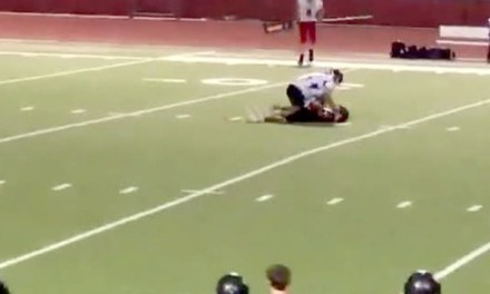 Targeted HS Football Player Attacked And Choked By Opponent