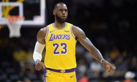 LeBron James Creates First Highlights as Laker in Debut
