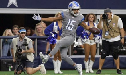 Golden Tate Reminded To Tone Down pre-TD Celebrations